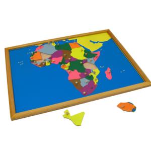 Ghép hình bản đồ châu Phi