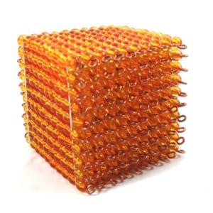 Khối 1000 hạt cườm vàng
