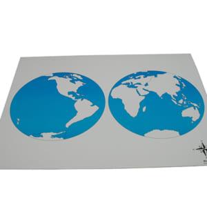 Mô hình bản đồ thế giới