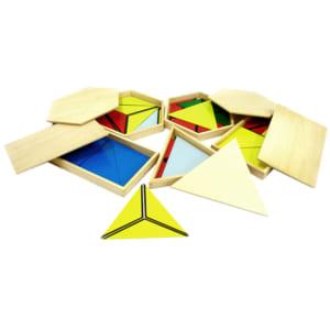 Tạo hình từ các hình tam giác