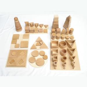 Trọn bộ các mẫu khối hình học